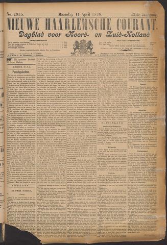 Nieuwe Haarlemsche Courant 1898-04-11