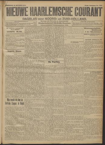 Nieuwe Haarlemsche Courant 1914-10-21