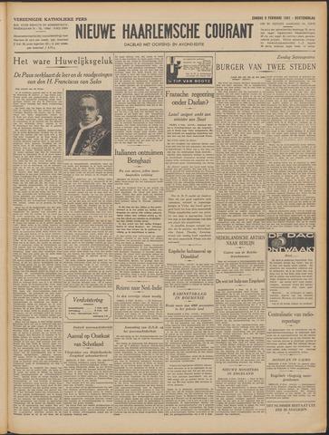 Nieuwe Haarlemsche Courant 1941-02-09