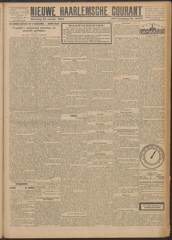 Nieuwe Haarlemsche Courant 1923-01-22