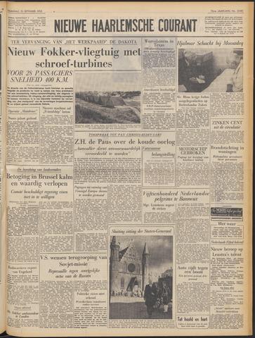 Nieuwe Haarlemsche Courant 1952-09-15