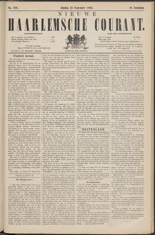 Nieuwe Haarlemsche Courant 1883-09-23