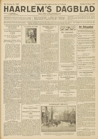Haarlem's Dagblad 1935-03-19