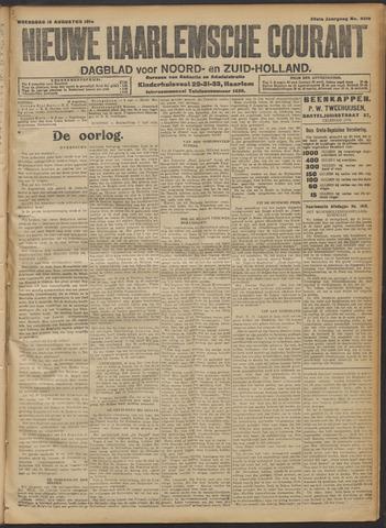 Nieuwe Haarlemsche Courant 1914-08-19