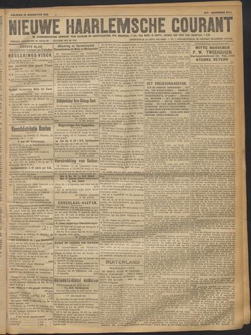 Nieuwe Haarlemsche Courant 1918-08-16
