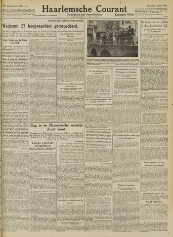 Haarlemsche Courant 1942-06-15