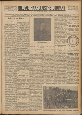 Nieuwe Haarlemsche Courant 1928-08-13
