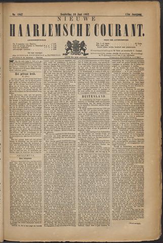 Nieuwe Haarlemsche Courant 1892-06-16