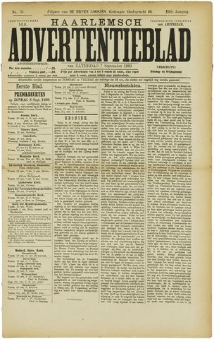 Haarlemsch Advertentieblad 1889-09-07
