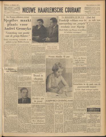 Nieuwe Haarlemsche Courant 1957-02-16