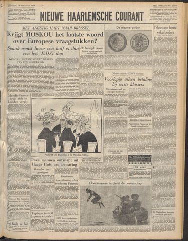 Nieuwe Haarlemsche Courant 1954-08-18
