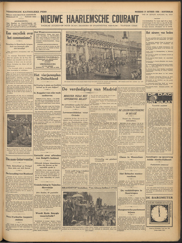 Nieuwe Haarlemsche Courant 1936-10-21