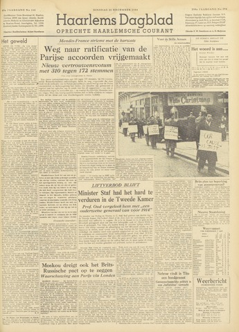 Haarlem's Dagblad 1954-12-21