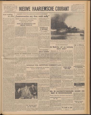 Nieuwe Haarlemsche Courant 1951-03-20
