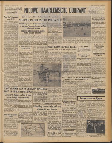 Nieuwe Haarlemsche Courant 1951-04-27