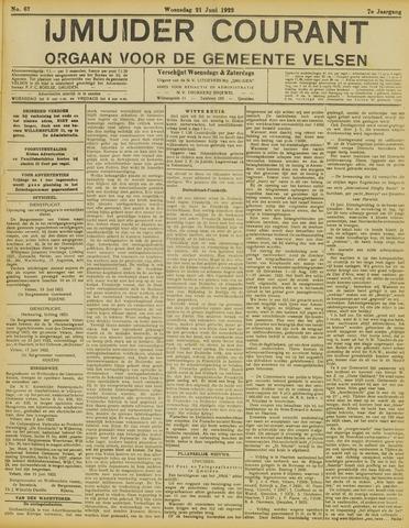 IJmuider Courant 1922-06-21