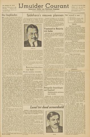 IJmuider Courant 1945-10-10