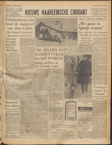 Nieuwe Haarlemsche Courant 1964-02-19