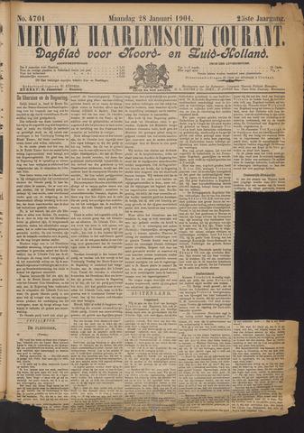 Nieuwe Haarlemsche Courant 1901-01-28