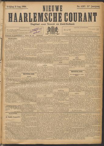 Nieuwe Haarlemsche Courant 1906-08-31