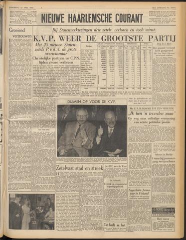 Nieuwe Haarlemsche Courant 1954-04-22