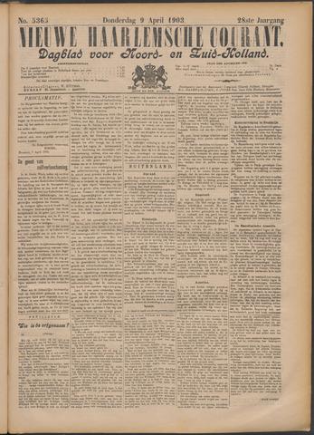 Nieuwe Haarlemsche Courant 1903-04-09