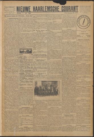 Nieuwe Haarlemsche Courant 1924-07-01