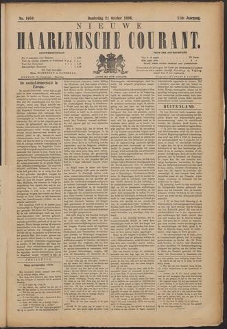 Nieuwe Haarlemsche Courant 1886-10-21