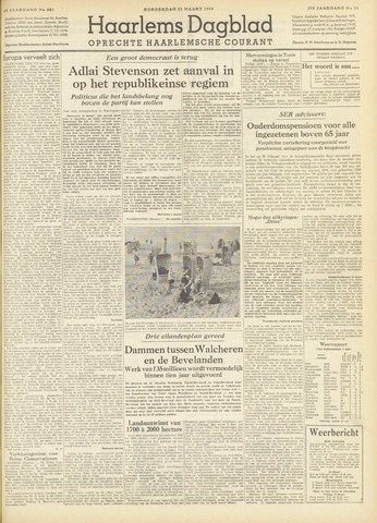 Haarlem's Dagblad 1954-03-11