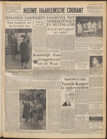 Nieuwe Haarlemsche Courant 1955-11-09