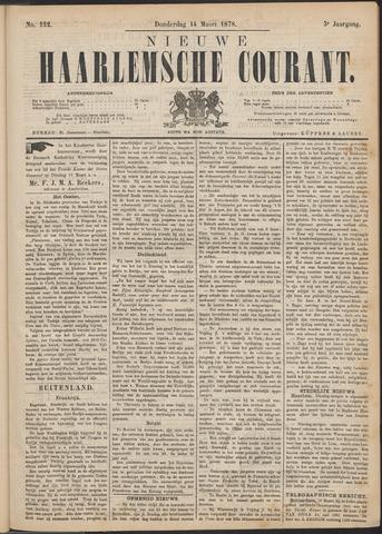 Nieuwe Haarlemsche Courant 1878-03-14