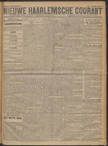 Nieuwe Haarlemsche Courant 1919-09-26