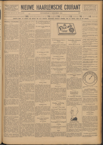 Nieuwe Haarlemsche Courant 1930-12-04