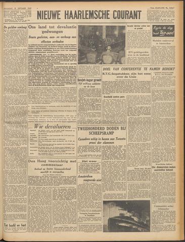 Nieuwe Haarlemsche Courant 1949-09-19