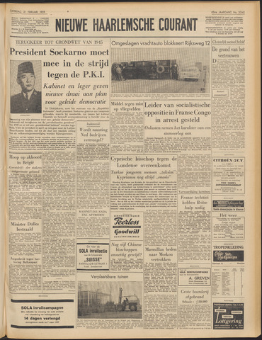 Nieuwe Haarlemsche Courant 1959-02-21