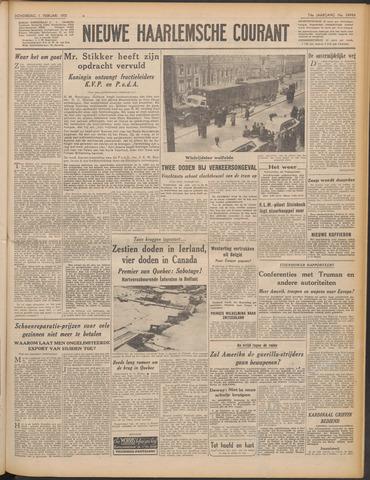 Nieuwe Haarlemsche Courant 1951-02-01