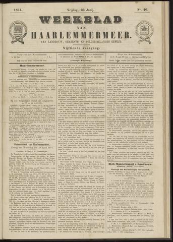 Weekblad van Haarlemmermeer 1874-06-26