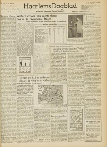Haarlem's Dagblad 1950-04-27