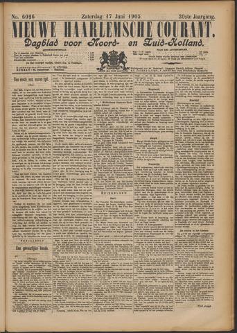 Nieuwe Haarlemsche Courant 1905-06-17
