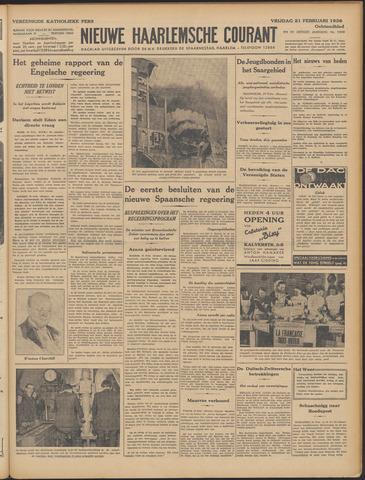 Nieuwe Haarlemsche Courant 1936-02-21