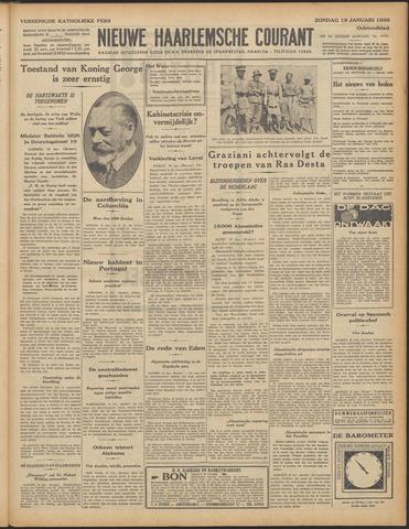 Nieuwe Haarlemsche Courant 1936-01-19