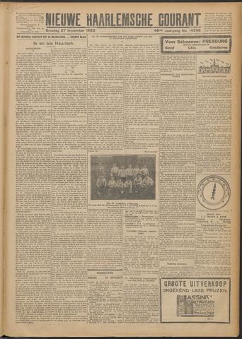 Nieuwe Haarlemsche Courant 1923-11-27