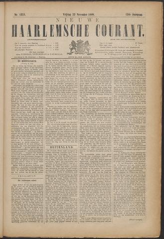 Nieuwe Haarlemsche Courant 1888-11-23
