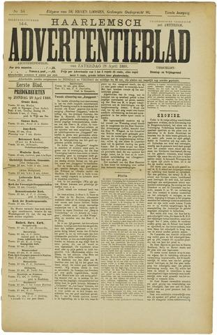Haarlemsch Advertentieblad 1888-04-28