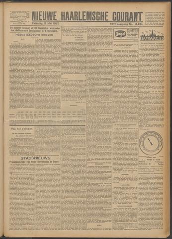 Nieuwe Haarlemsche Courant 1923-05-12