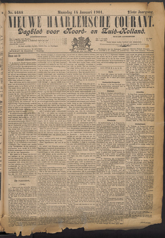 Nieuwe Haarlemsche Courant 1901-01-14