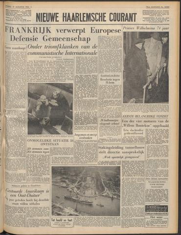 Nieuwe Haarlemsche Courant 1954-08-31