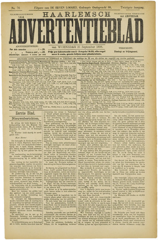 Haarlemsch Advertentieblad 1898-09-21