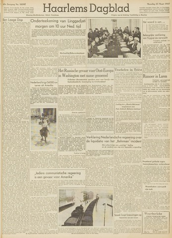 Haarlem's Dagblad 1947-03-24