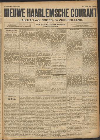 Nieuwe Haarlemsche Courant 1907-07-31